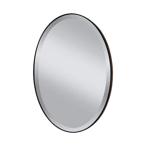 Decorative Oil Rubbed Bronze Mirror - Glass/Clear - A/N