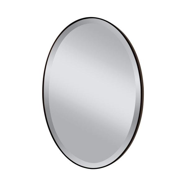 Decorative Oil Rubbed Bronze Mirror - Glass/Clear - A/N