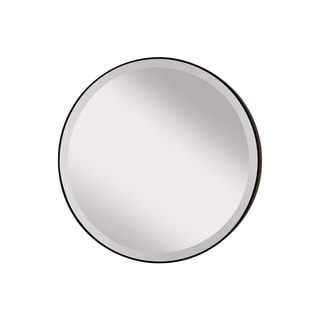Feiss Oil Rubbed Bronze Decorative Wall Mirror - White - A/N