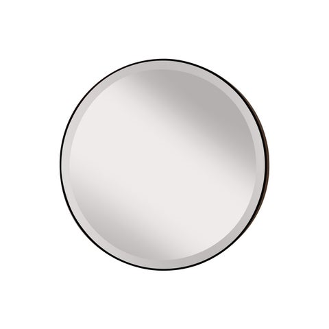 Feiss Oil Rubbed Bronze Decorative Wall Mirror - White