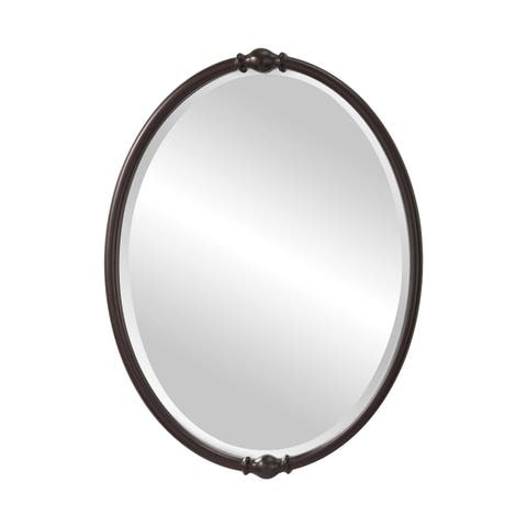 7804a24c621a Bronze Finish, Oval Mirrors | Shop Online at Overstock