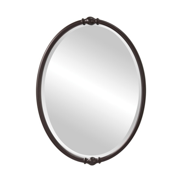 Oil Rubbed Bronze Mirror - Glass/Clear - A/N. Opens flyout.