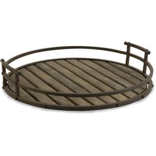 CKI Vermont Iron and Wood Tray|https://ak1.ostkcdn.com/images/products/9658921/P16841013.jpg?impolicy=medium