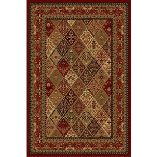 Cosmic Red Area Rug (2' x 4')