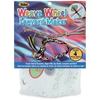 Weave Wheel Lanyard Maker 4/Pkg