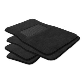 FH Group Black Carpet Full Set Auto Floor Mats