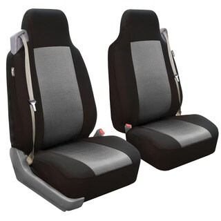 FH Group Grey Front Seat Covers (Set of 2)