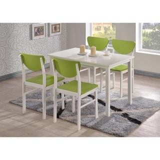 K and B Green Dining Chairs (Set of 4)