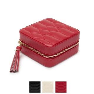 WOLF Caroline Leather Zip Travel Case