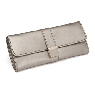 WOLF Palermo Leather Travel Jewelry Roll