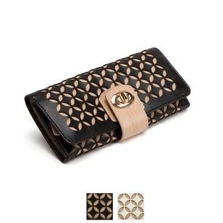 WOLF Chloe Leather Jewelry Roll