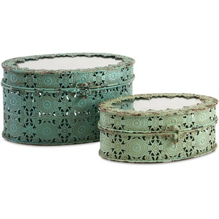 Grant Metal Boxes (Set of 2)