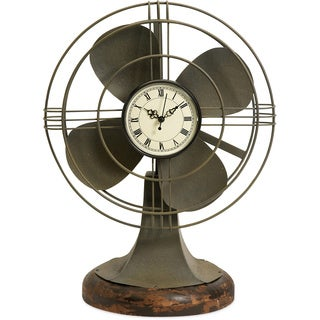 Thatcher Vintage Fan Clock