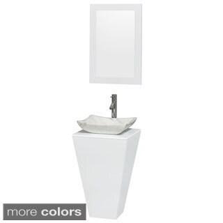 Wyndham Collection Esprit Pedestal Bathroom Vanity