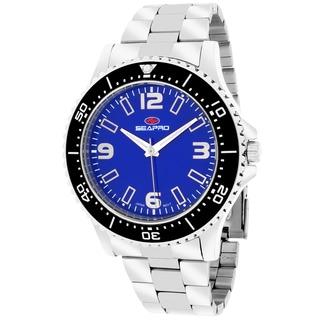 Seapro Men's SP5332 Tideway Round Silver Bracelet Watch