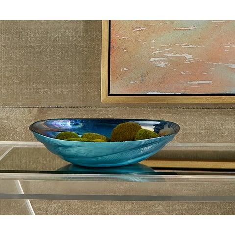 Moody Swirl Glass Bowl