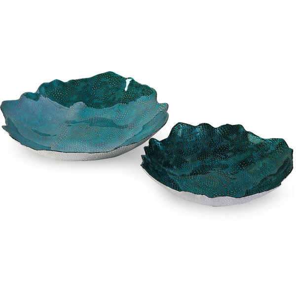 Belcove Glass Bowls (Set of 2)