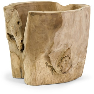 Macaque Teakwood Vase