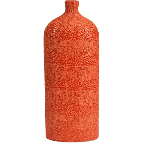 Buy Orange Vases Online At Overstock Our Best Decorative