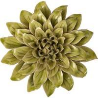Isabella Small Ceramic Wall Decor Flower