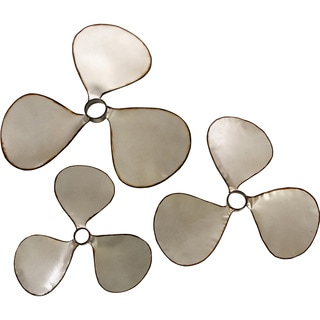 Airplane Propeller Wall Decor metal propeller wall decor - free shipping today - overstock