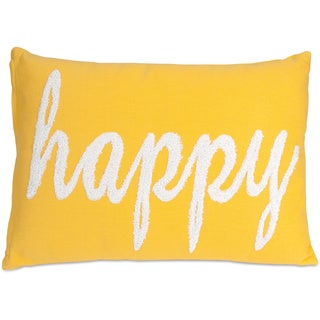 Suzie Happy Decorative Throw Pillow