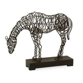 CKI Anatole Woven Horse Statuary
