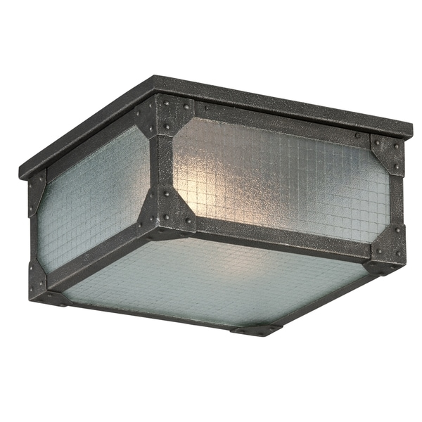 Troy Lighting Hoboken 2-light Ceiling Mount