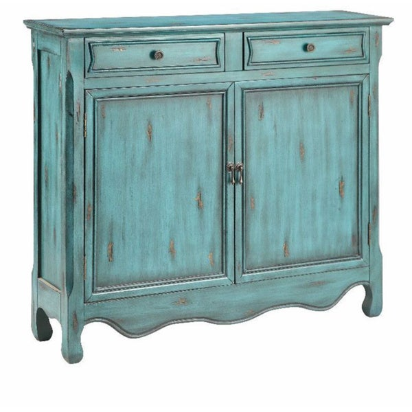 Claridon Weathered Blue Cabinet