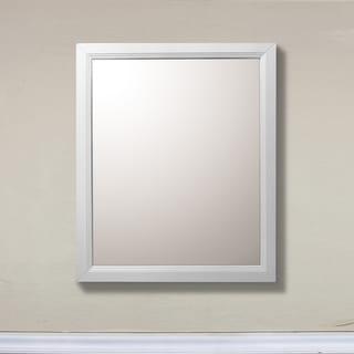 30 in Mirror - White