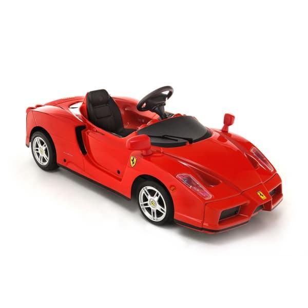Enzo Ferrari 12v Kid S Ride On Car Overstock 9659734