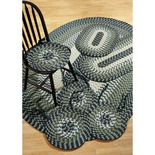 Alpine Braided Hunter Indoor/ Outdoor 7-piece Set by Better Trends