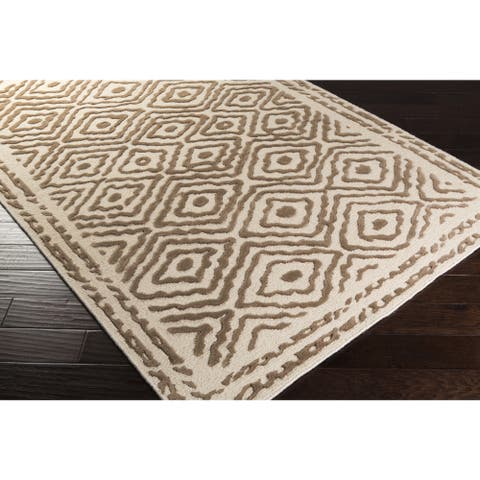 Hand Knotted Ben Wool Area Rug