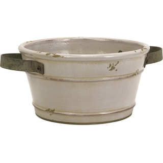Colfax Short Pot with Metal Handle