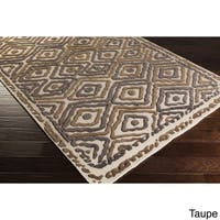 Hand Knotted Joey Wool Area Rug - 8' x 11'