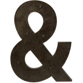 Ampersand Metal Magnet Board with Magnets