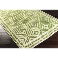 Hand Knotted Ben Wool Area Rug (3'3 x 5'3)
