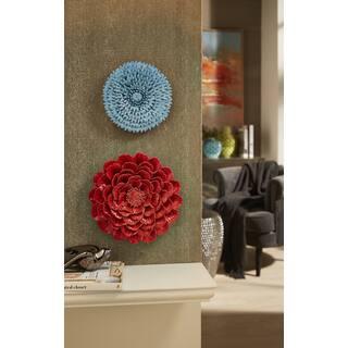 Kastania Porcelain Wall Flower|https://ak1.ostkcdn.com/images/products/9659881/P16841807.jpg?impolicy=medium