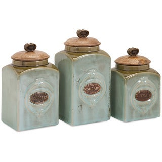 Exceptionnel Addison Ceramic Canisters (Set Of 3)