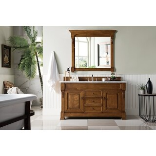 Brookfield Country Oak Single Cabinet Vanity