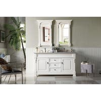 """Brookfield 60"""" Double Cabinet, Cottage White"""