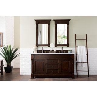 Brookfield Mahogany Double Vanity