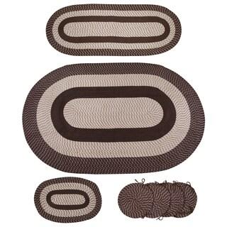 7-piece Braided Rug Set