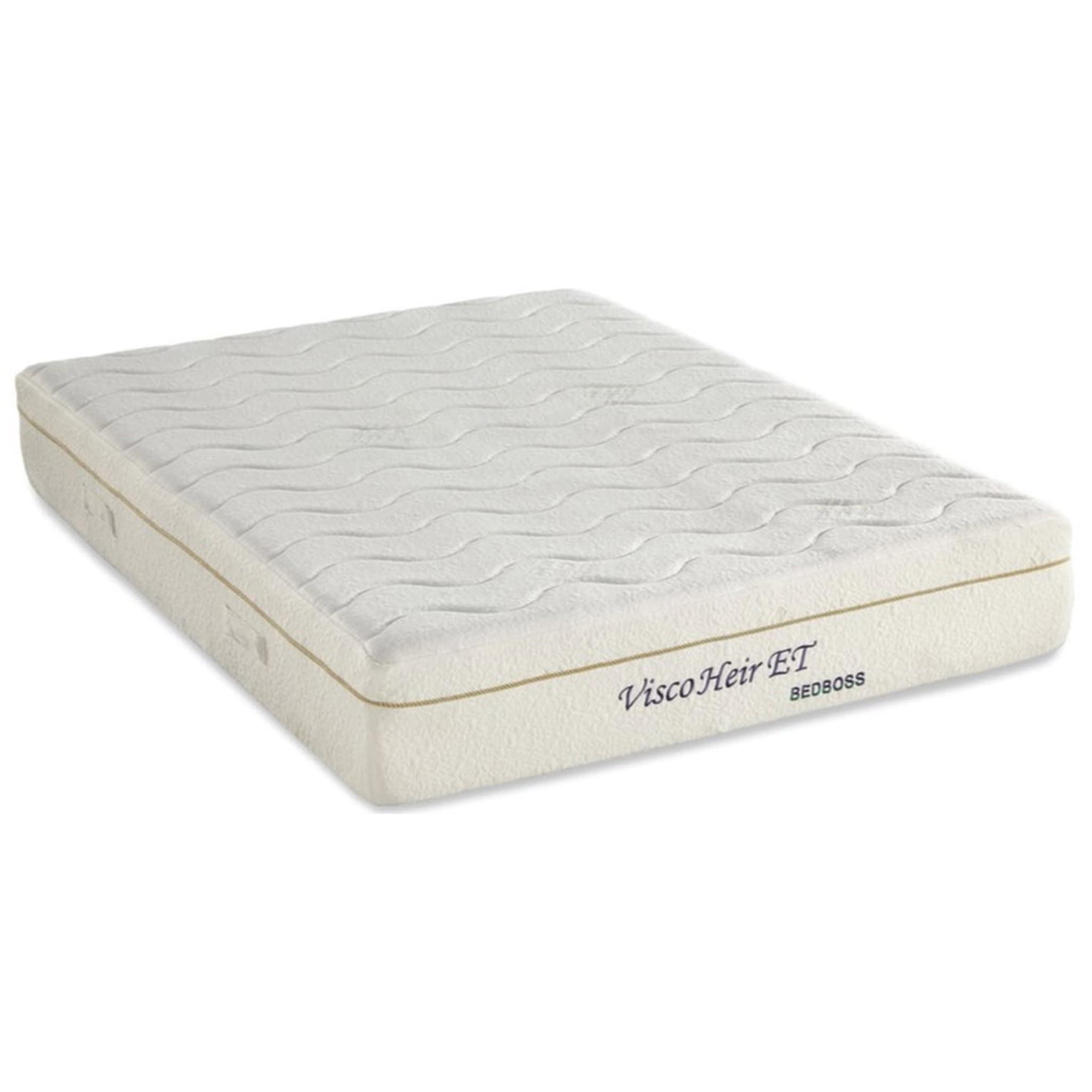 buy online d3da7 81a6a Bed Boss Visco Heir ET 11-inch Queen-size Memory Foam Mattress - Multicolor