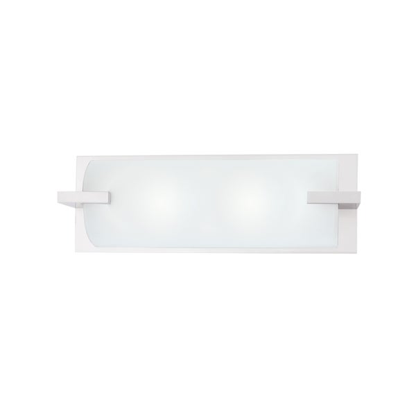 Shop Sonneman Lighting Edge 16 Inch Bath Bar Free Shipping Today
