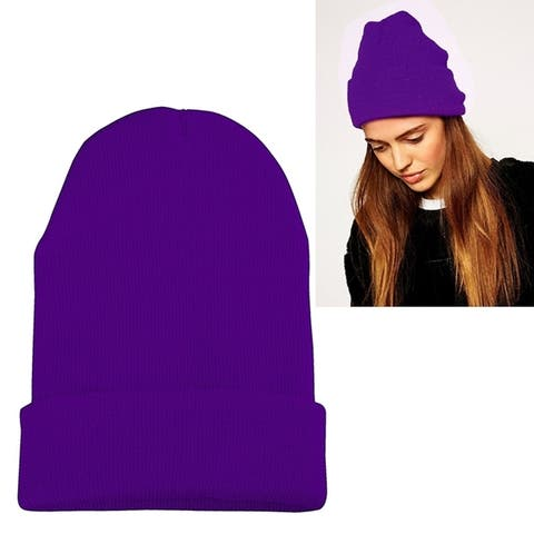 Zodaca Unisex Soft Winter Knit Beanie Hat