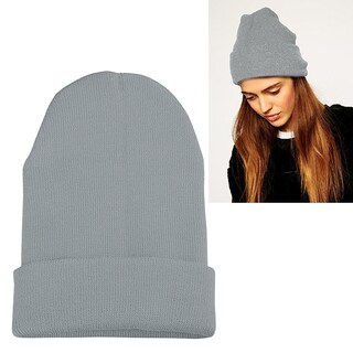 Zodaca Unisex Soft Winter Knit Beanie Hat