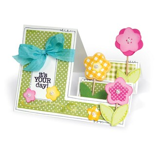 Sizzix Framelits Dies By Stephanie Barnard 21/Pkg-Basic Step-Ups Card
