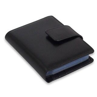 Handmade Leather Infinite Black Wallet (Thailand)
