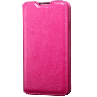 INSTEN Leather Wallet Folio Book-Style Flip Phone Case Cover With Stand For LG Optimus Exceed 2 Verizon/ Optimus L70